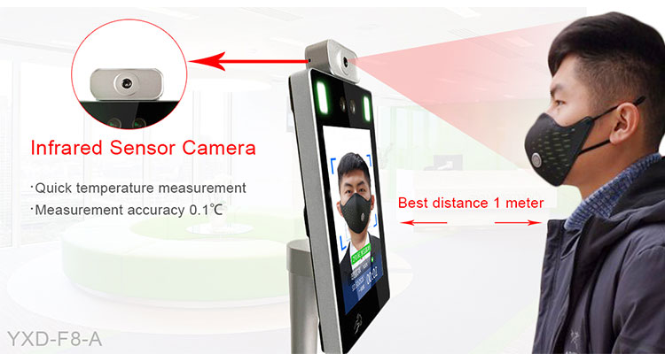 face recognition temperature measurement termimal