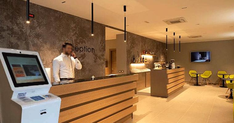 Smart Hospitality Solution self service payment kiosk