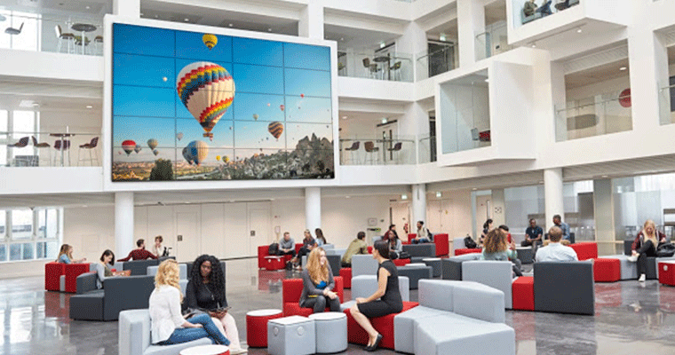 Smart Hospitality Solution LED video wall