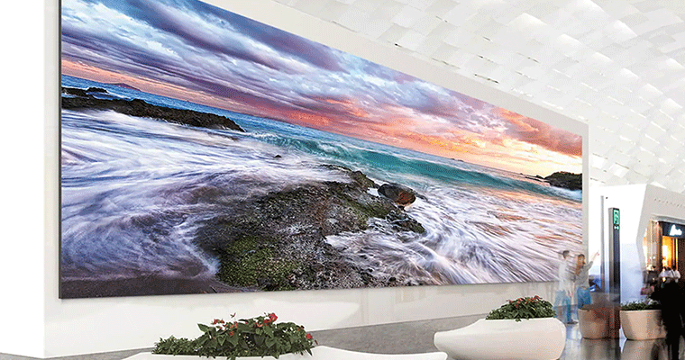 Smart Hospitality Solution LED video wall