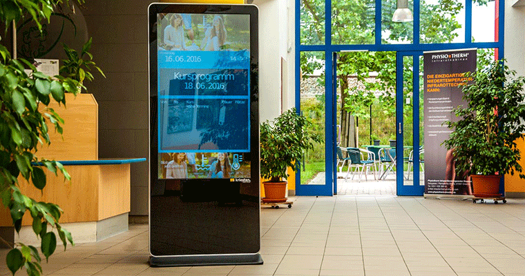 Smart Hospitality Solution indoor digital signage