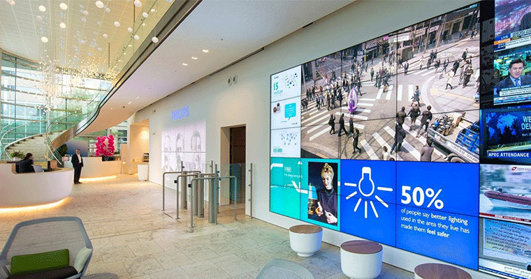 large lcd video wall