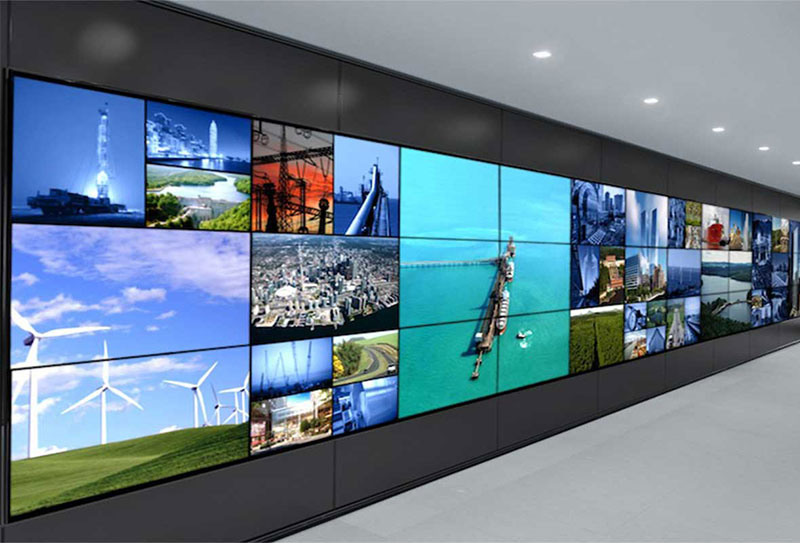 video wall for utilities command center