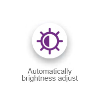 Automatically brightness adjust