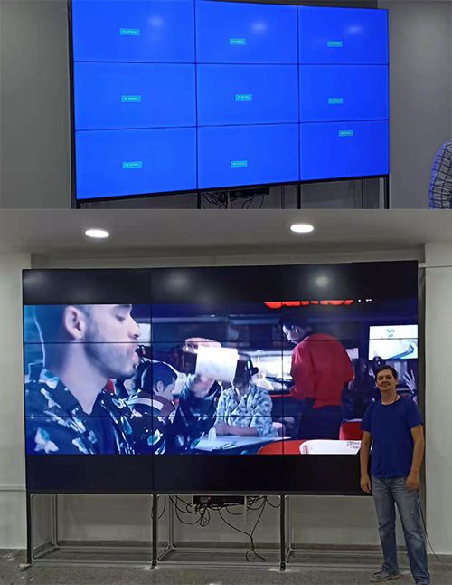 55inch splicing video wall