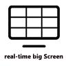 Real time big screen