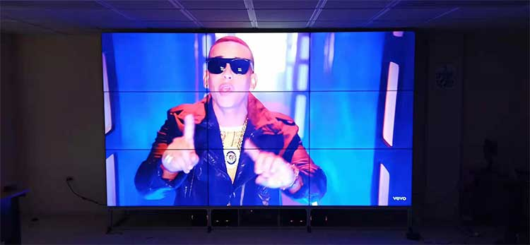 3x3 lcd video wall display conference office in Cuba new