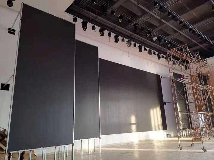 led video wall display indoor