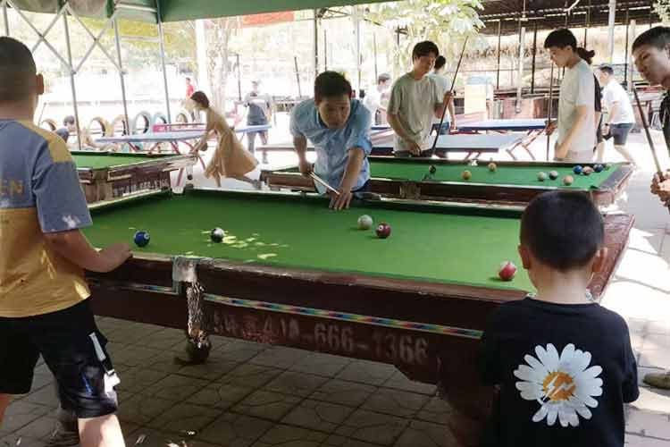 Simple billiards and table tennis