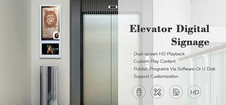 elevator information display
