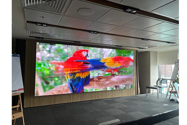 3x4 lcd video wall is for advertising