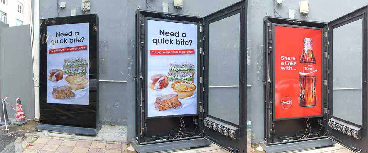 outdoor digital signs for business