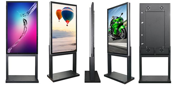 outdoor digital signage kiosk|outdoor advertising screen