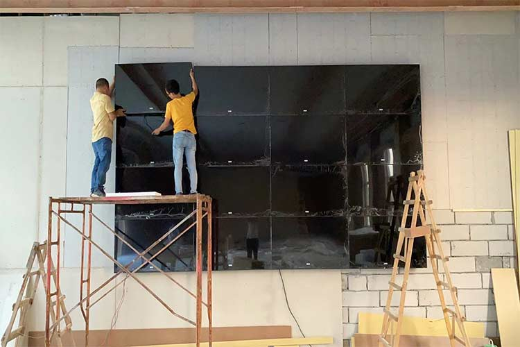 LCD video wall screen frame requirements