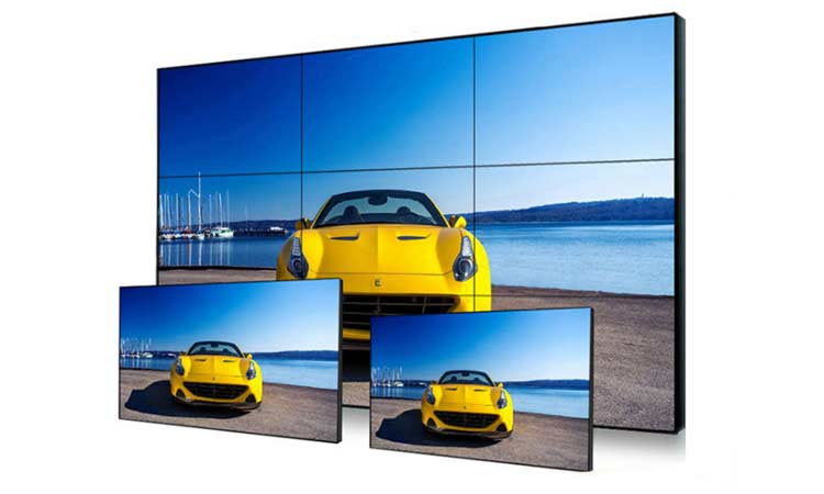 46inch 1.8mm narrow bezel video wall with controller