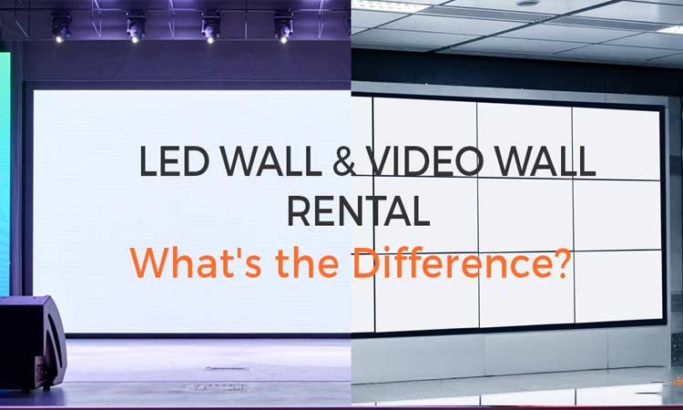 How to choose the right product for small pitch LED display and LCD video wall