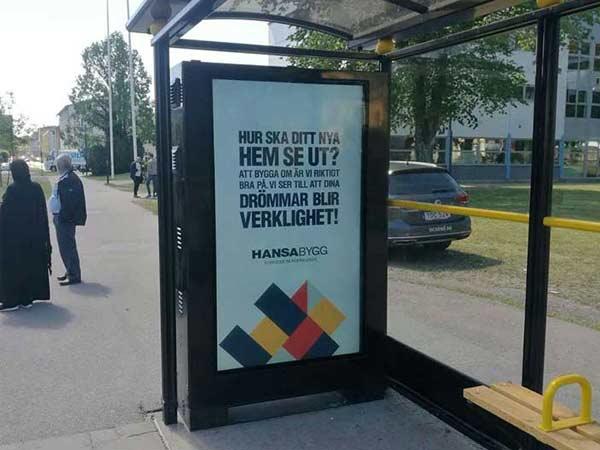 65 inch floor standing outdoor digital signage display cases in Netherlands