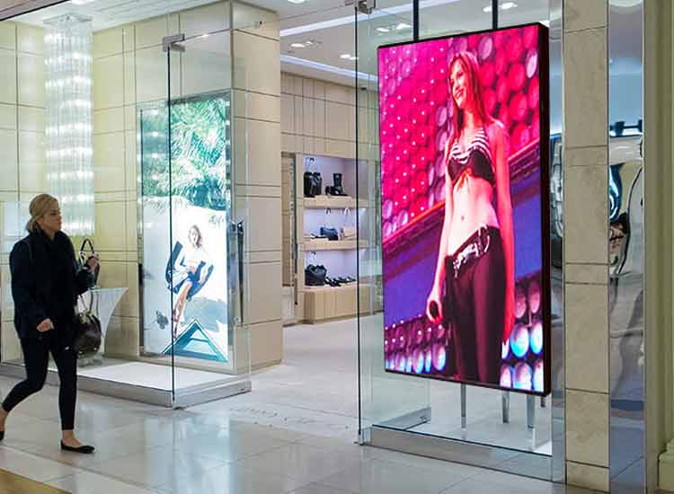 What are the Features of Digital Window Display