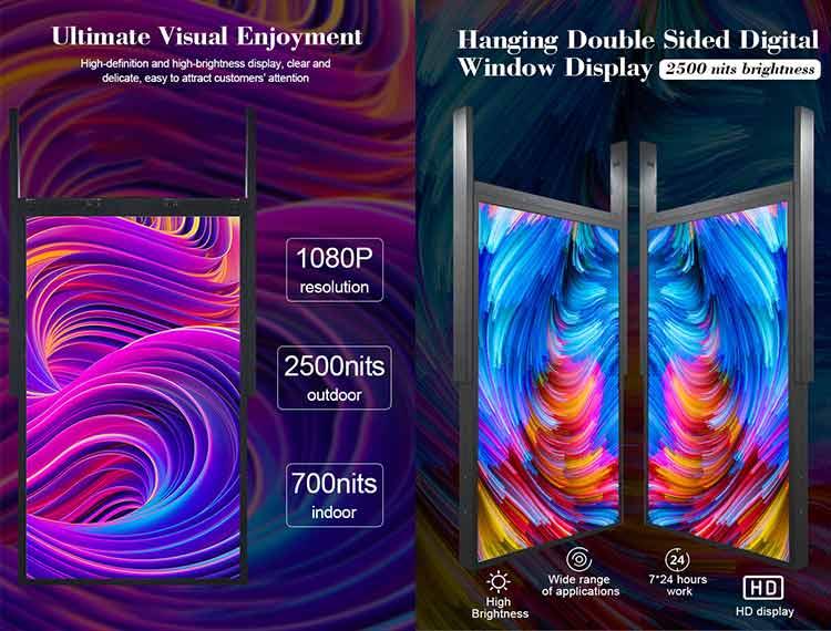 advantages of digital window display advertising