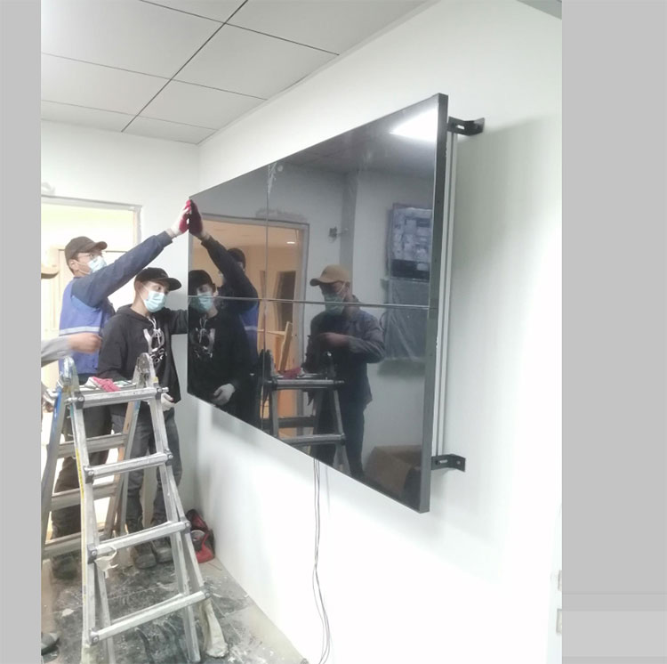 LCD Video Wall With Low Cost