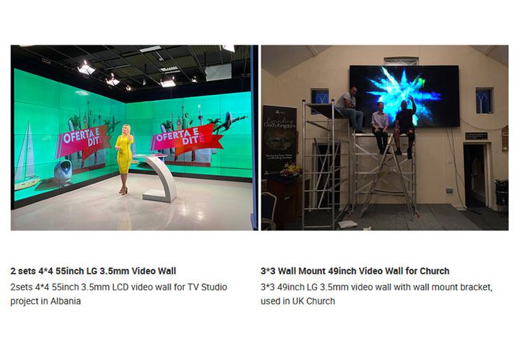 LCD Video Wall Display