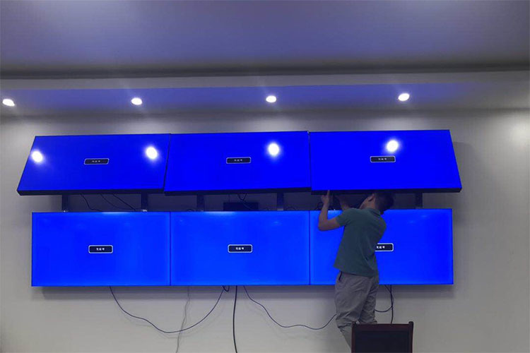 The secrets to install LCD video wall successful from the beginning to the end