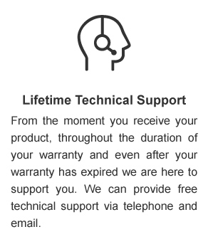Lifetime Technical Support