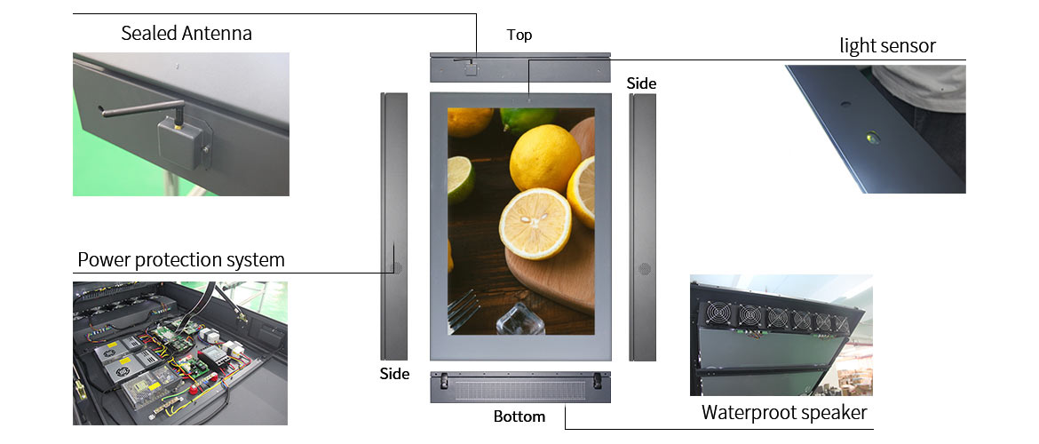 Outdoor Advertising Display Solution