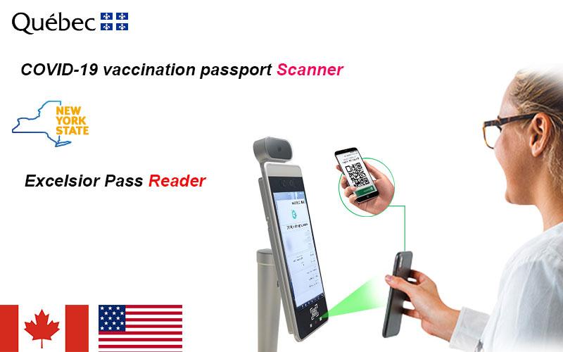 Green pass code scanner