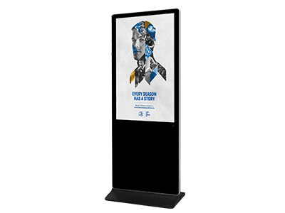 55inch Floor Standing LCD Digital Signage Totem