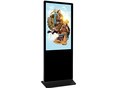 65inch Super Narrow LCD Totem Display