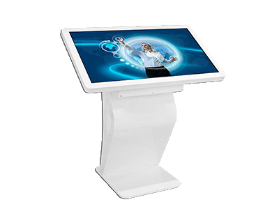 55 inch 4k Floor Standing Indoor Smart Touch Kiosk