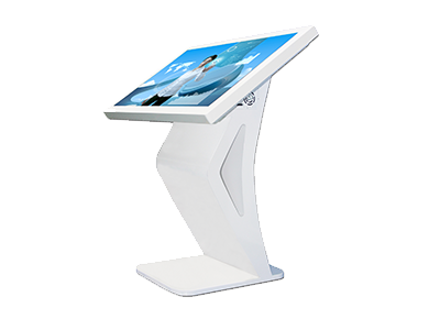 32 Inch 4k Floor Standing Indoor Smart Touch Kiosk