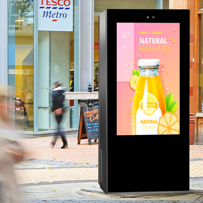 Outdoor Digital Signage Showcase, Smart City, Wayfinding Signage