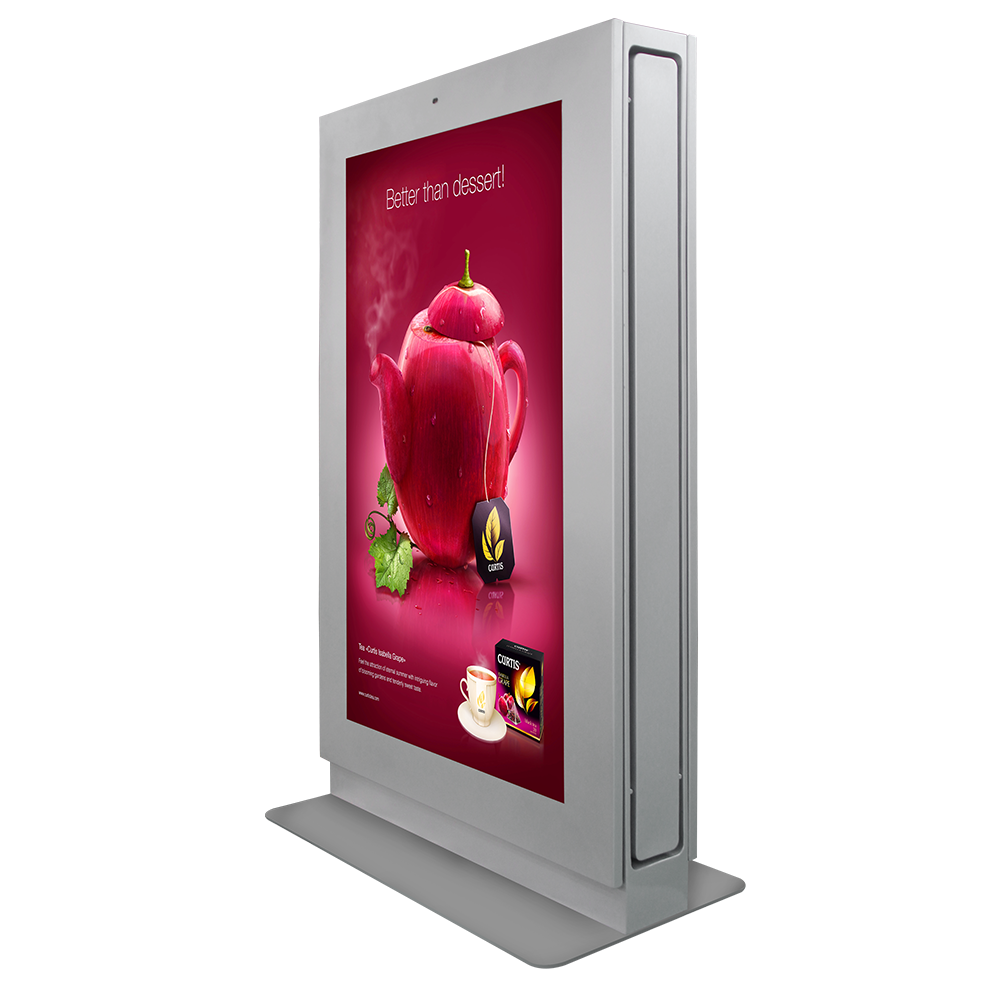 75 inch outdoor digital signage kiosk totem/DOOH/LCD digital advertising display