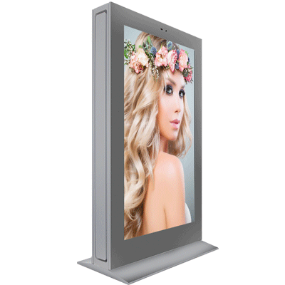 75 inch Double-sided Outdoor LED/LCD digital signage Advertising Display kiosk