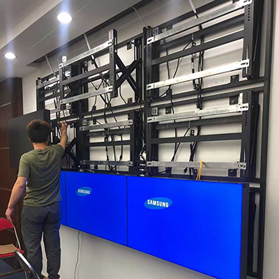 Video Wall Mount with pop out