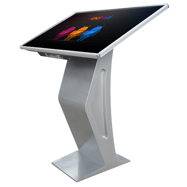 49 inch 4K Floor Standing Interactive Touch Screen Kiosk