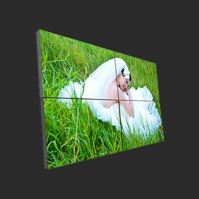 Thin bezel 55 inch video wall